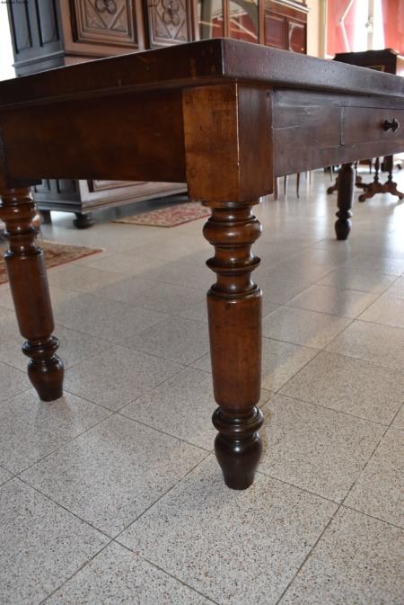 Tavolo rettangola epoca '800  piemontese
