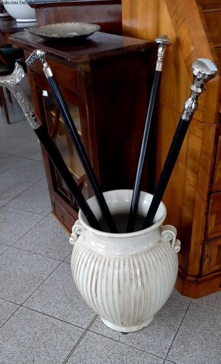 Portaombrelli in ceramica fiorentino