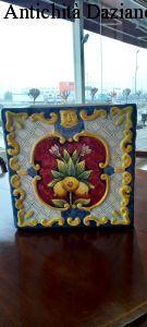 Cachepot in ceramica fiorentina